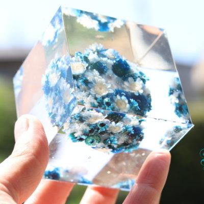 長野 松本 フェアリール プリザーブドフラワー ネイルサロン ヘアサロン 受付の花 クリスタルアートリウム
