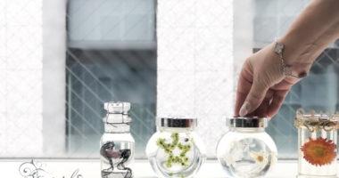 長野 松本 フラワー教室 magiq 東京堂 フェアリール アーティフィシャルフラワー 高級造花 リース オーダー レッスン ハーバリウム クリスタルアートリウム