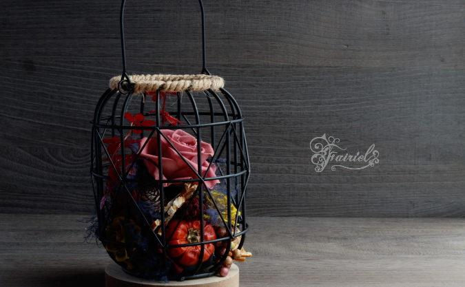 長野 松本 フラワー教室 プリザーブドフラワー アレンジメント 秋色アレンジ レッスン オーダー 販売 全国発送 出張レッスン