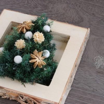 長野 松本 フラワー教室 magiq 東京堂 フェアリール ツリー 高級造花 クリスマス レッスン オーダー プリザーブドフラワー キッズレッスン 子どもと作るクリスマス