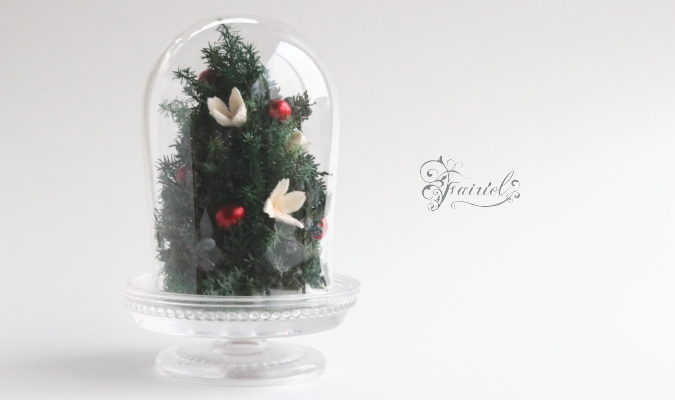 長野 松本 フラワー教室 magiq 東京堂 フェアリール ツリー 高級造花 クリスマス レッスン オーダー プリザーブドフラワー